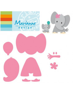 Marianne Design Collectable Eline's Elephant