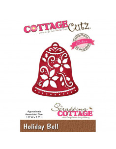 CottageCutz Holiday Bell