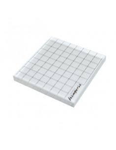 Blocco acrilico rigato cm. 8,5x9x1