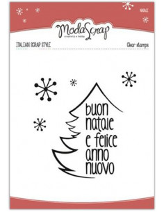 Clear Stamps MSTC3-001- Natale