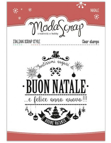 Clear Stamps MSTC3-002 - Natale