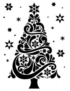 Sagoma embossing Christmas Tree