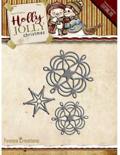 Fustella Snowflake & Star