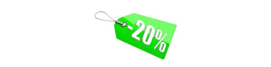 Promozione meno 20 %