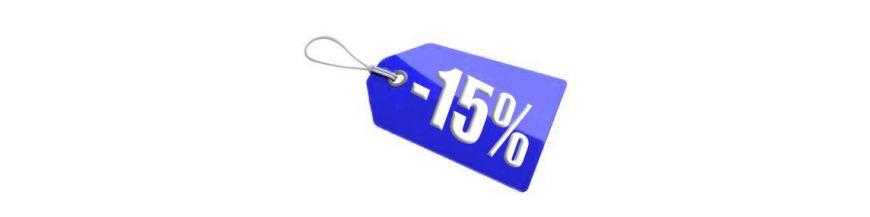 Promozione meno 15 %