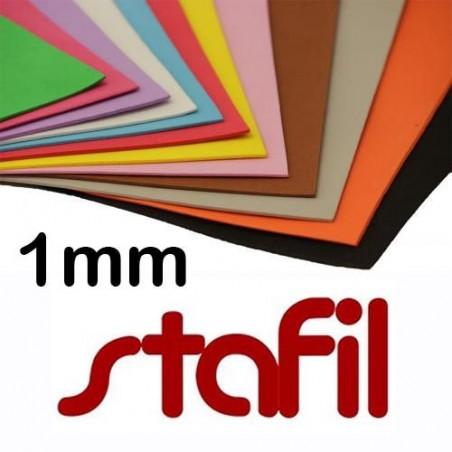 Moosgummi Stafil 40x60cm 1mm